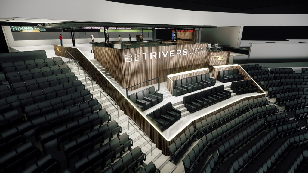 BetRivers lounge
