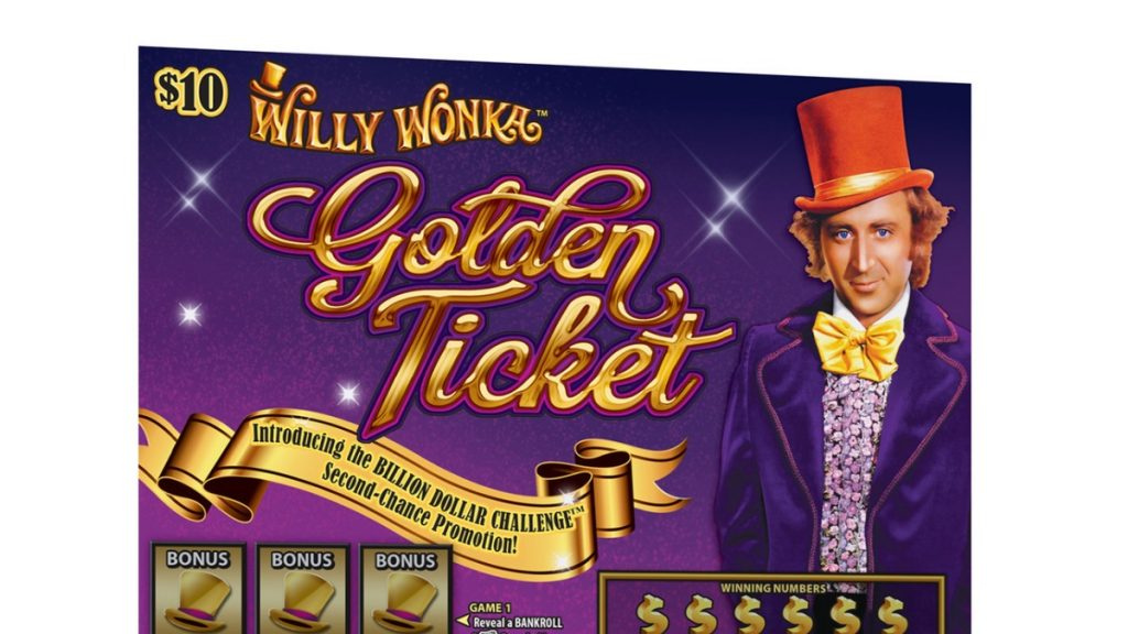 SG's first Willy Wonka Golden Ticket game
