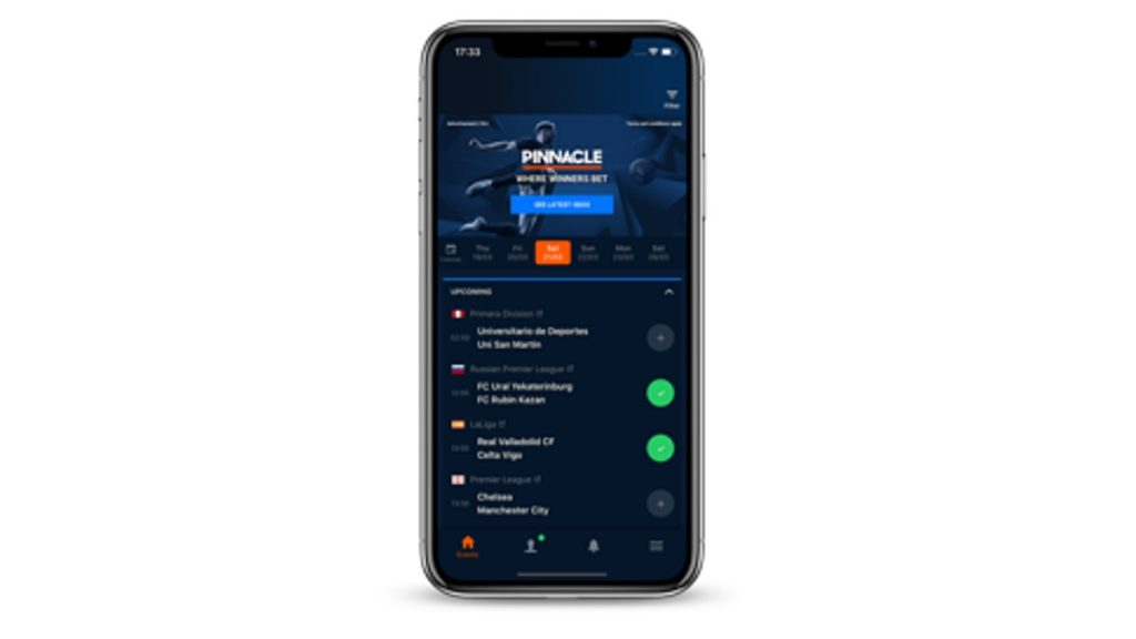 Pinnacle Live Soccer Scores app