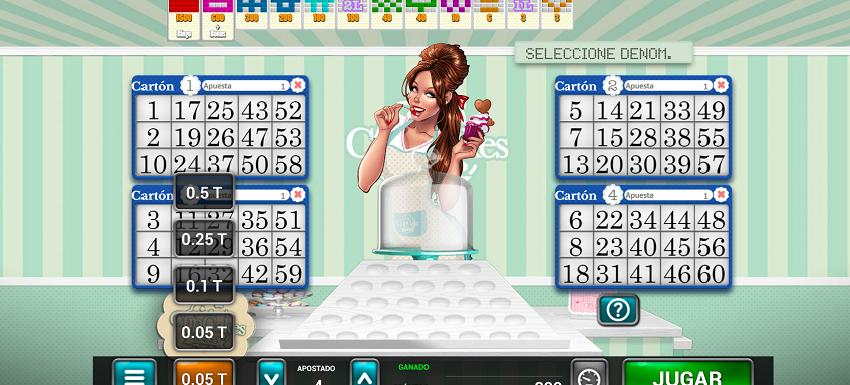 juego cupcakes MGA