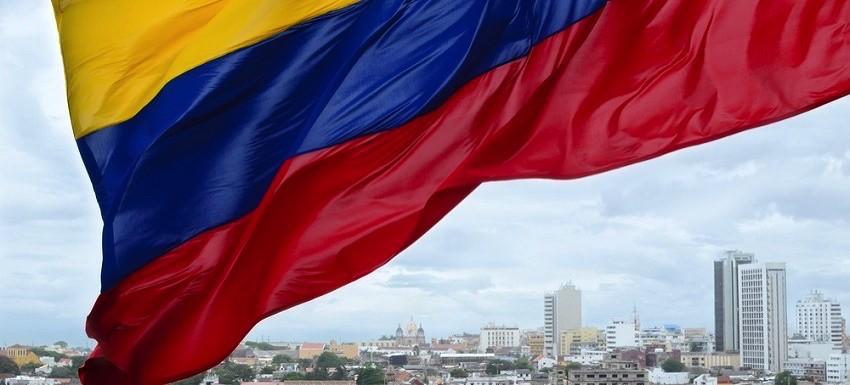 foto bandera Colombia