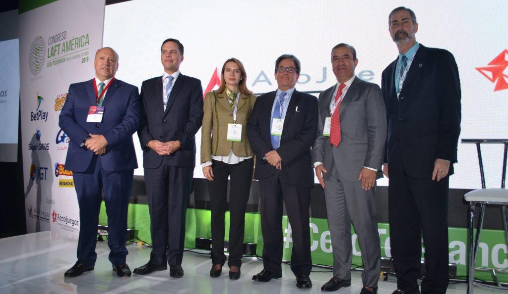 foto inauguración Gaming Colombia 2019 Laft América