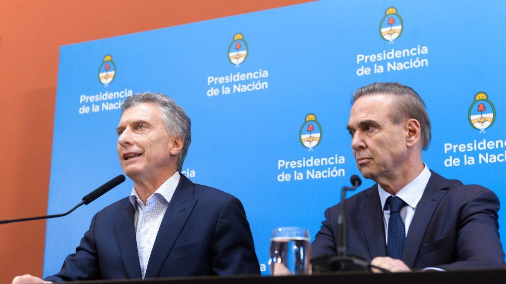 foto rueda prensa Mauricio Macri