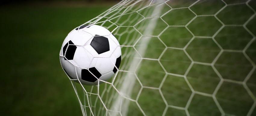 foto portería fútbol