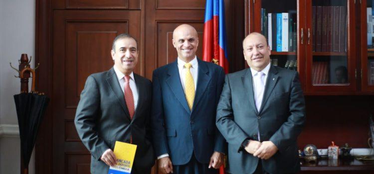 foto presentación proyecto ley amaños Colombia