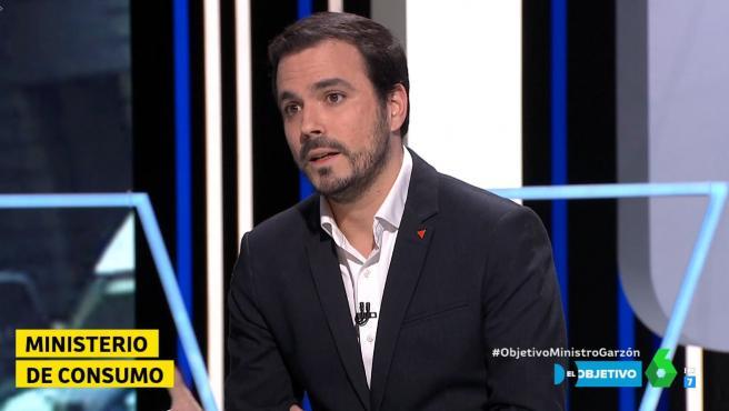 foto Alberto Garzón en La Sexta