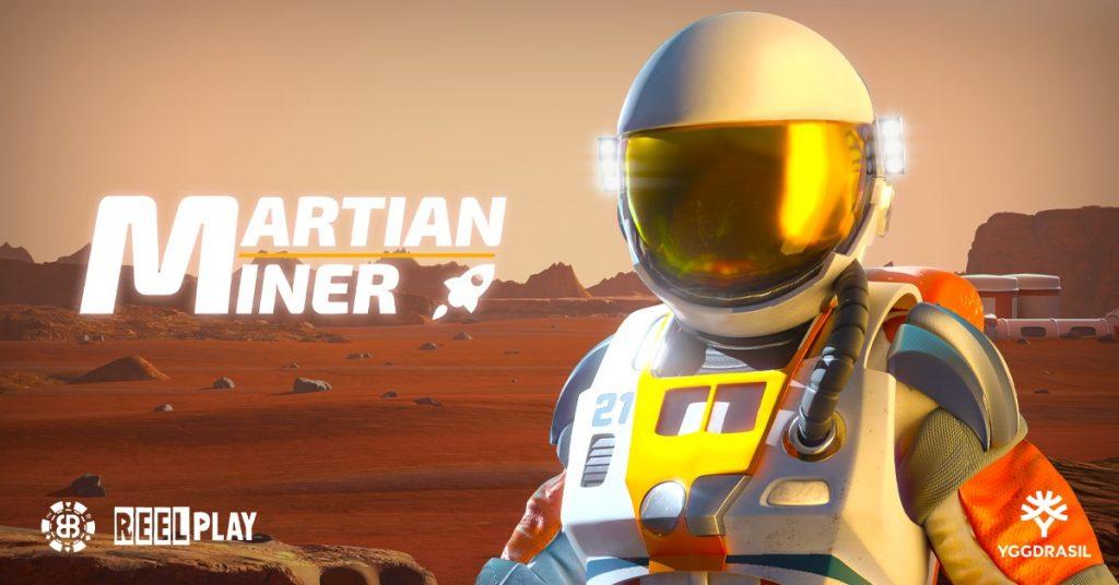 Yggdrasil Martian Miner slot